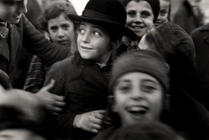 Roman Vishniac - Školáci v Mukačevu