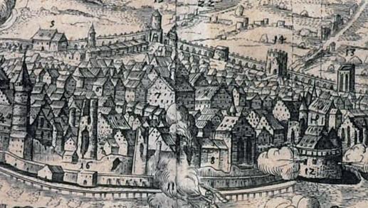 Mědirytina Lipsko - Třicetiletá válka