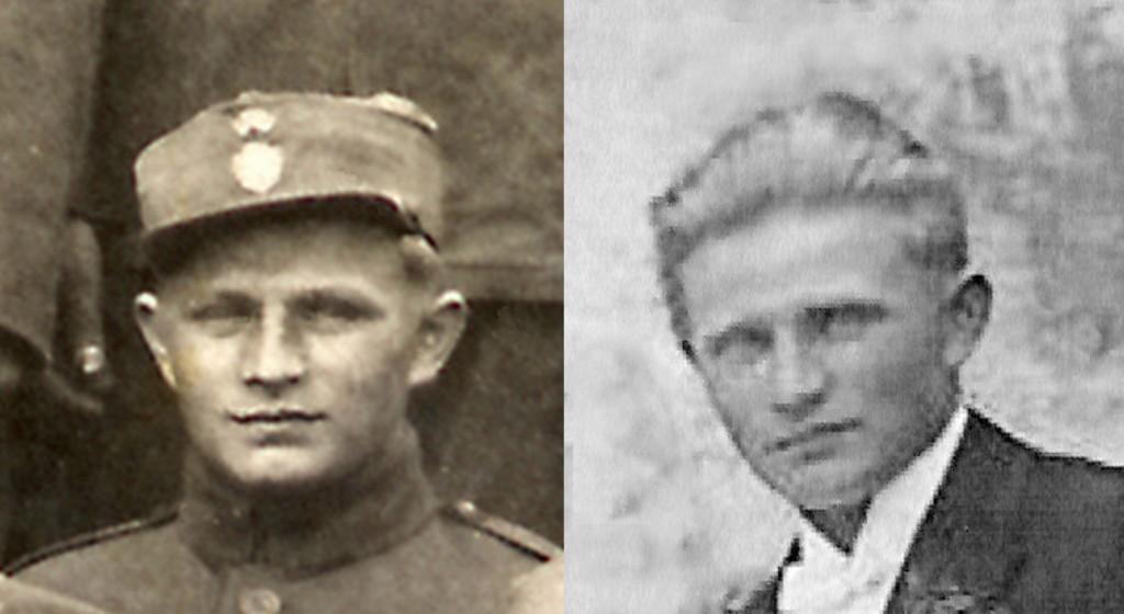 Josef Pavlík v civilu a uniformě