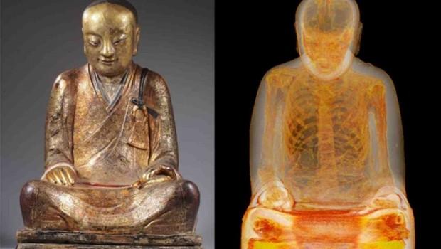 Mumifikovaný mnich