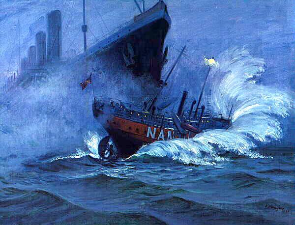 Potopení Nantucketu. Charles Mazoujian.