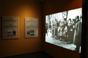 Expozice o transportech Židů