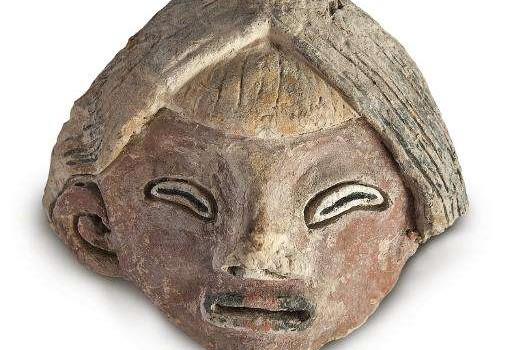 Hliněná soška z Peru