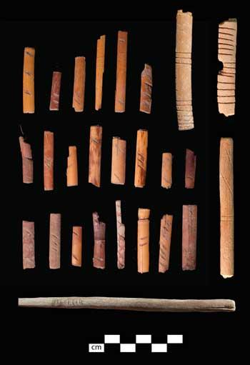 Hazardní pomůcky Indiánů ze 13. století