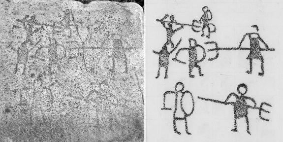 Starověké graffiti