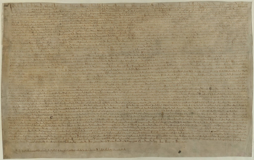 Magna charta libertatum (1215), autor British Library