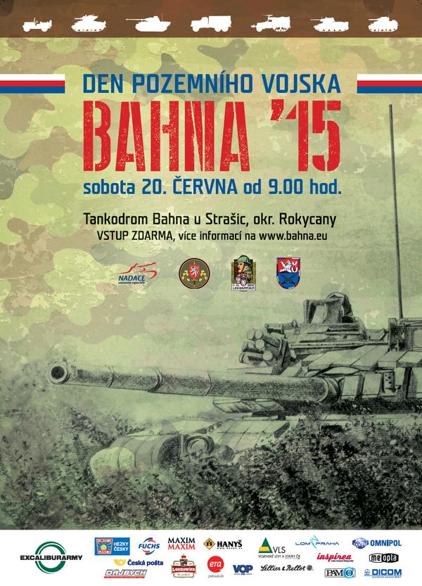 Plakát Bahna 2015