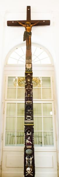 Unikátní dřevěný kříž