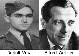 Rudolf Vrba a Alfred Wetzler