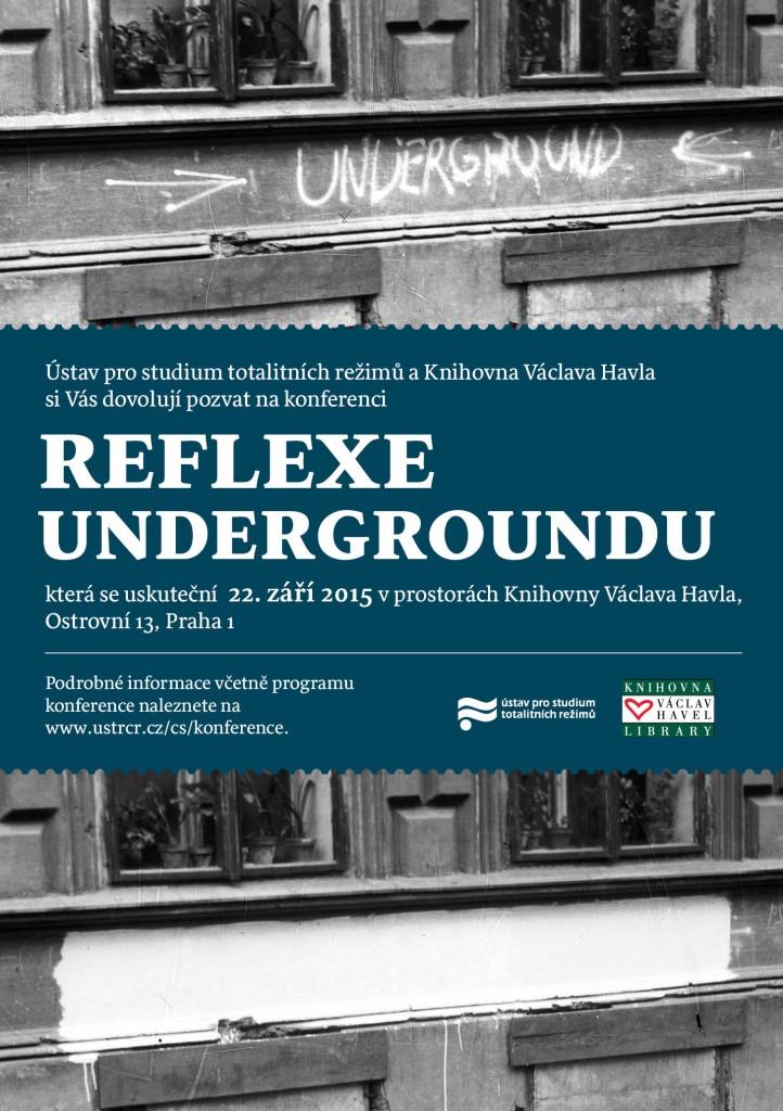 Reflexe Undergroundu pozvánka