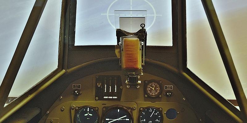 Simulátor Messerschmitt  Bf 109