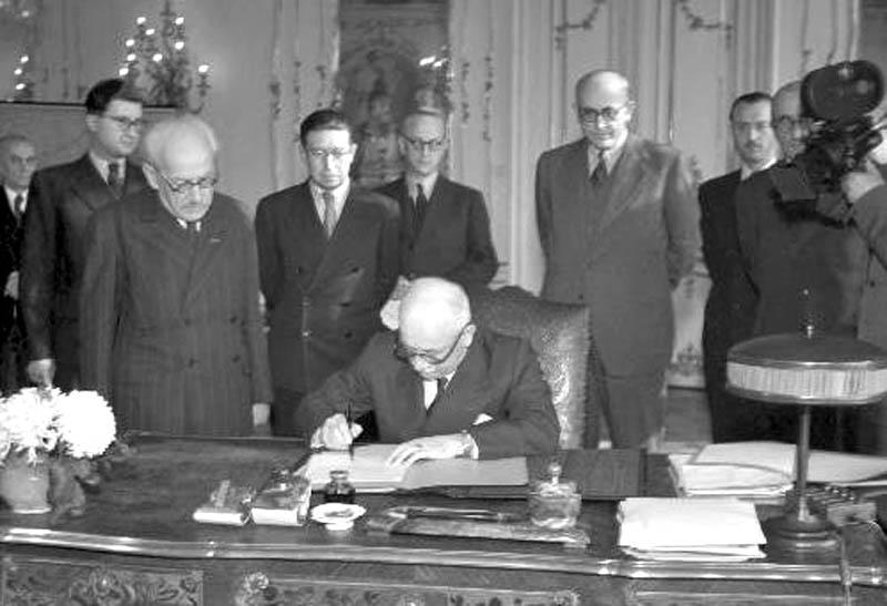 Edvard Beneš, dekret - podpis