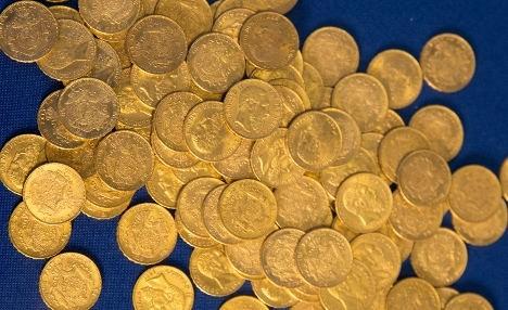 Nacistický zlatý poklad