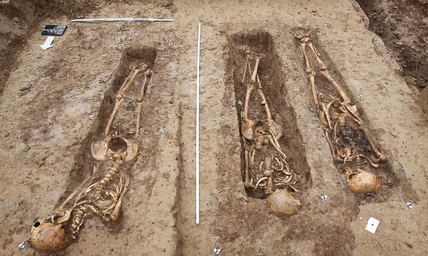 Kostry napoleonových vojáků