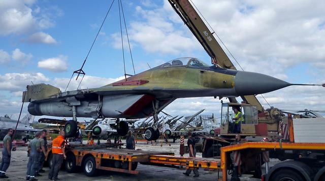 MiG-29, foto VHÚ/aeroweb.cz