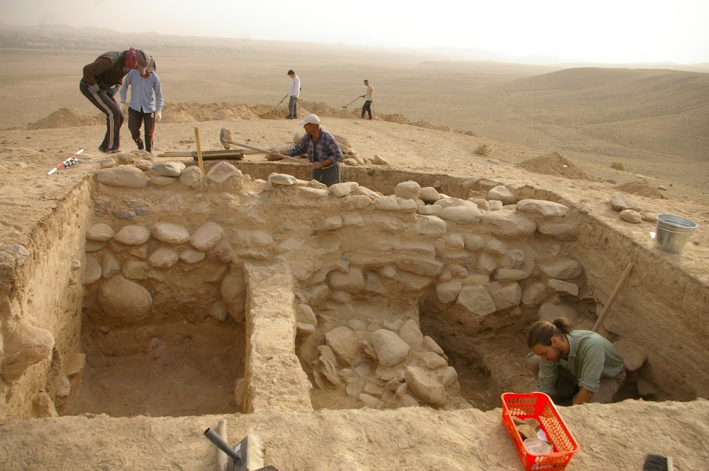 Archeologové v Uzbekistánu