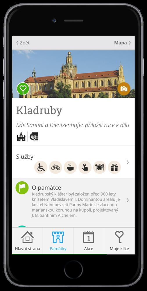 Aplikace Klíč k památkám