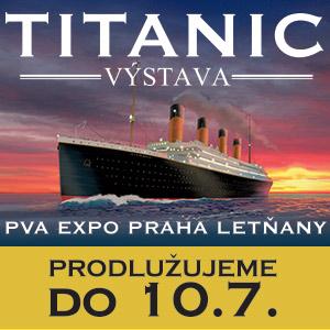Výstava Titanic prodloužena