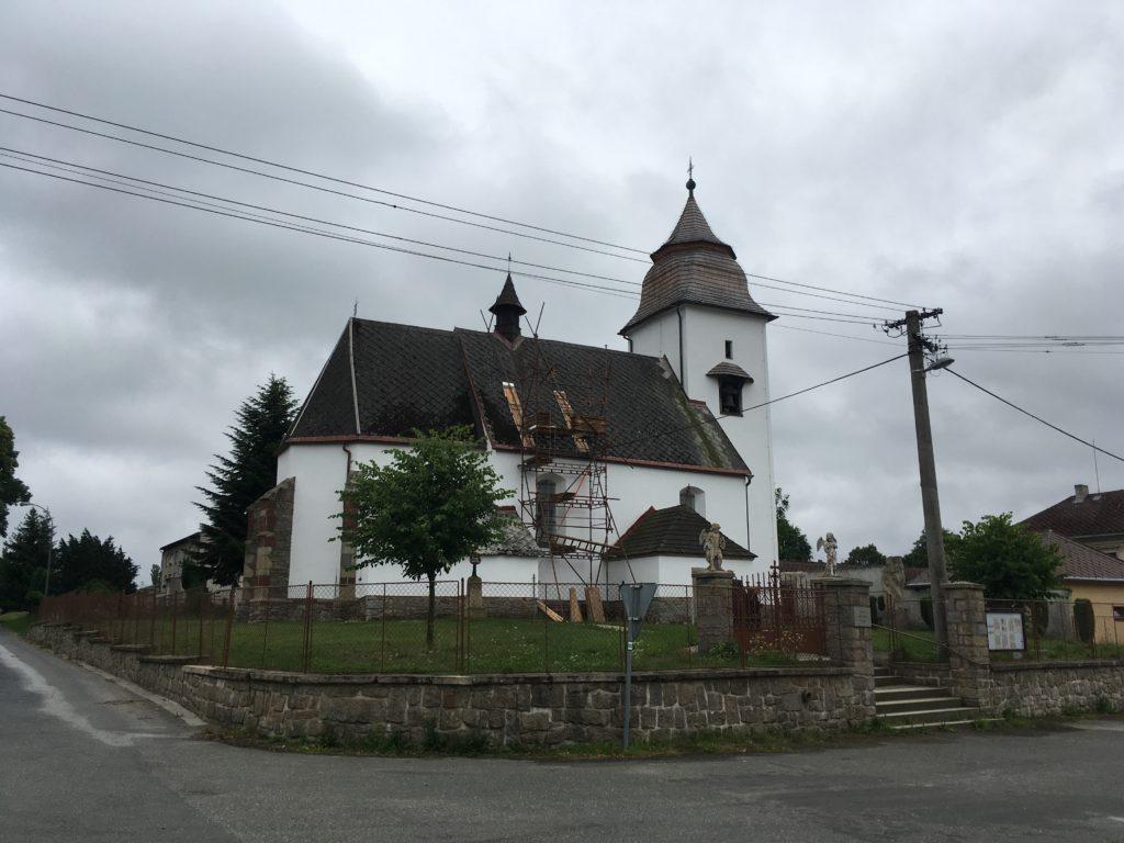 Kostel Nanebevzetí Panny Marie v Číhošti