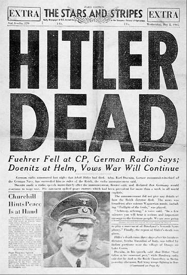 Hitler mrtev
