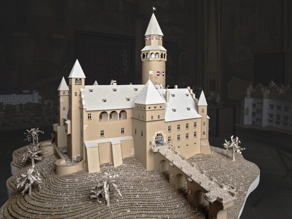 model hradu Bouzov