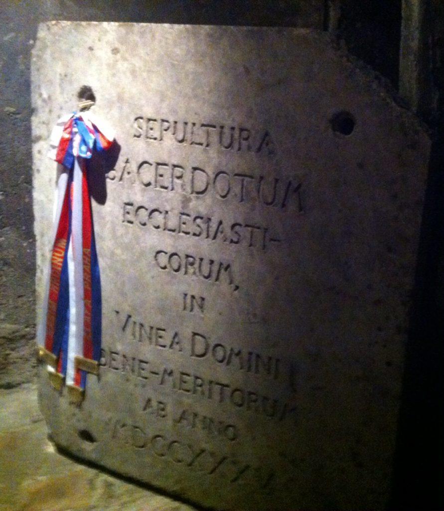 Krypta v kostele svatých Cyrila a Metoděje