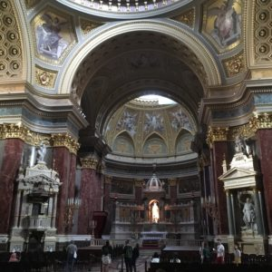 Bazilika sv. Štěpána, Budapešť - interiér
