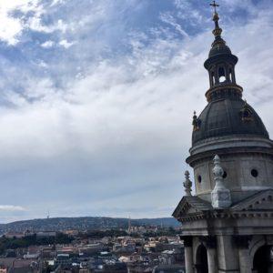 Bazilika sv. Štěpána, Budapešť - vyhlídka na město
