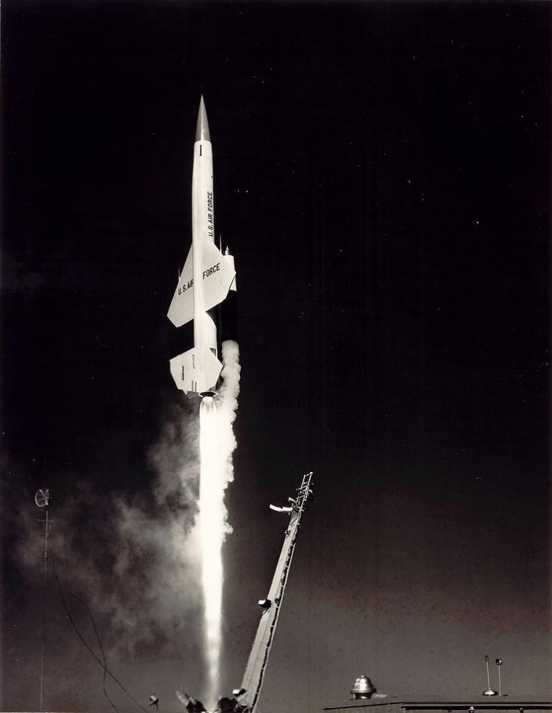 Start rakety CIM-10 BOMARC