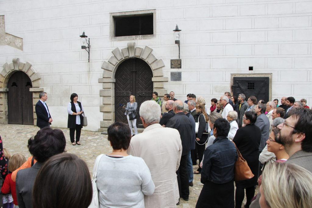Slavnostní otevření výstavy, foto: NPÚ