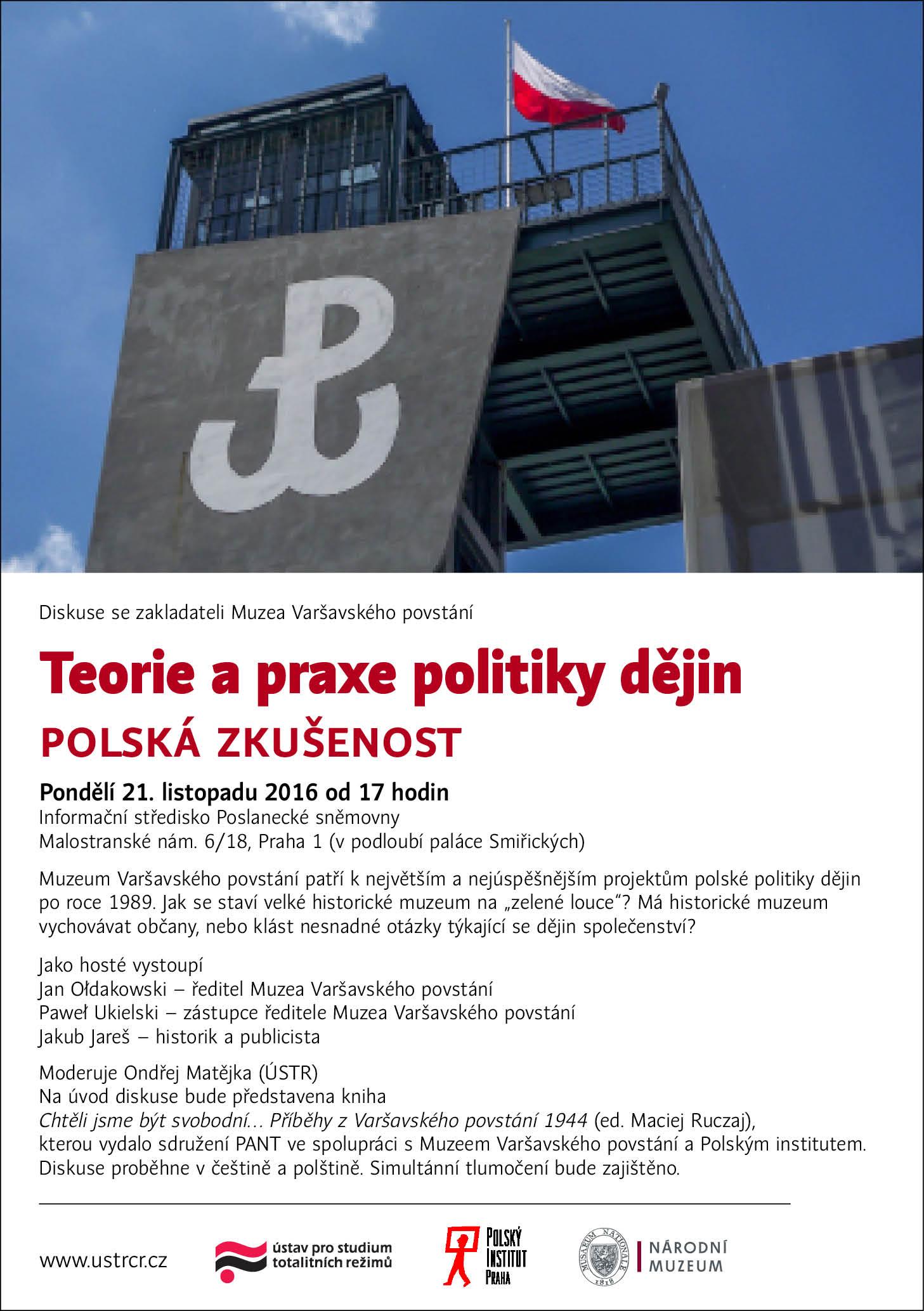 Diskuze: teorie a praxe politiky dějin