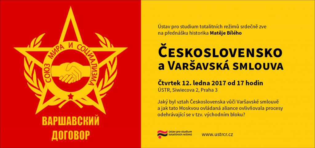 Přednáška Československo a Varšavská smlouva