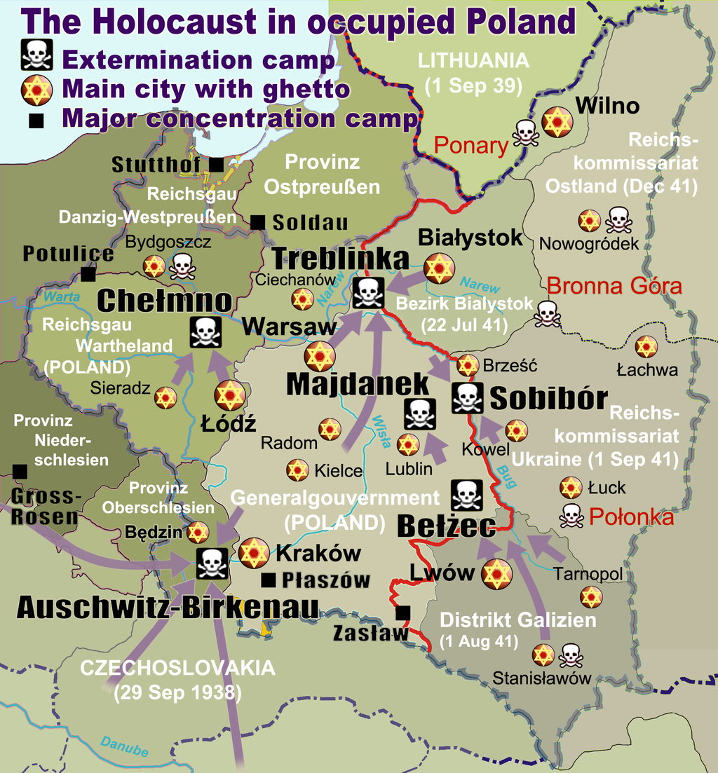Holokaust v Polsku