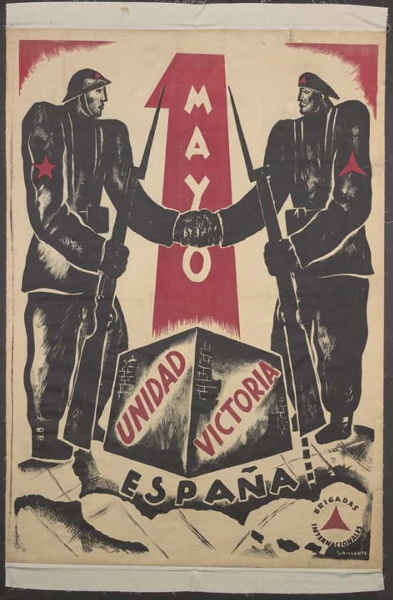 Propagační plakát Interbrigád