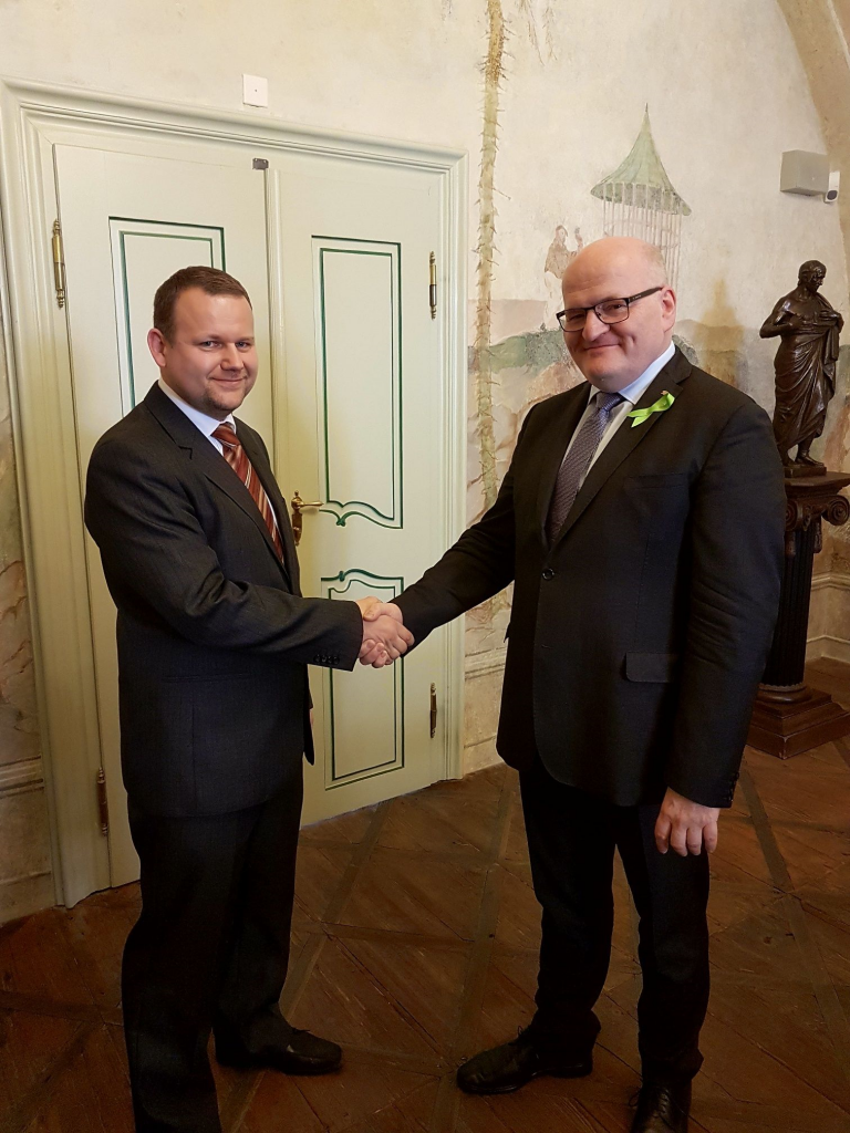 Ministr Herman a Martin Kocanda