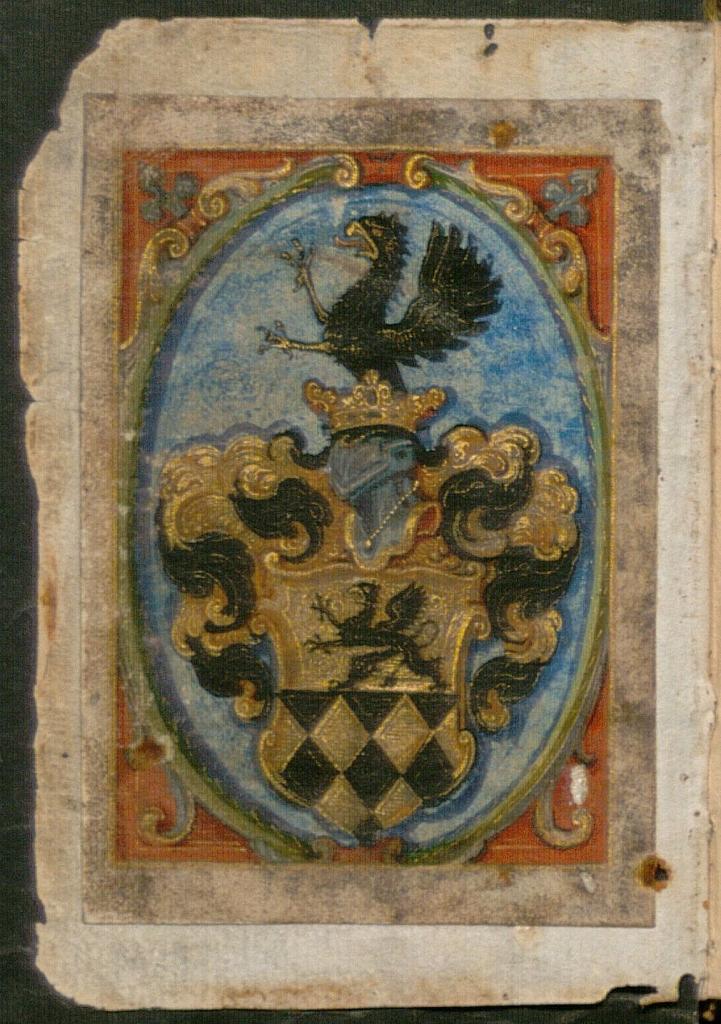 Modlitební knížka z roku 1655