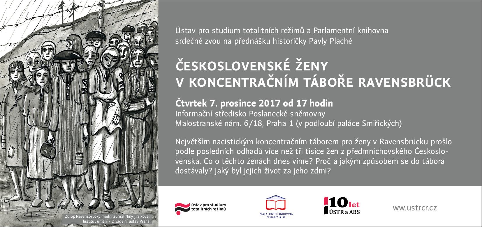 Přednáška: Československé ženy v koncentračním táboře Ravensbrück