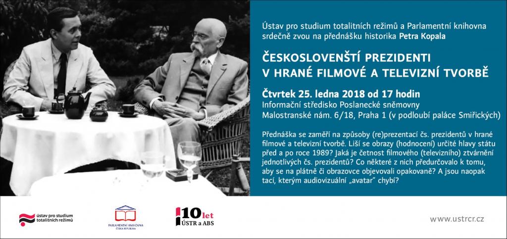 Českoslovenští prezidenti v hrané filmové a televizní tvorbě