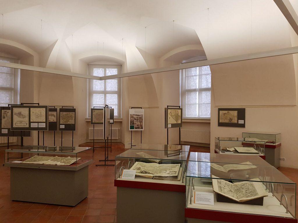Klementinum, výstava historických map