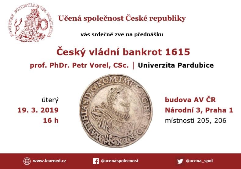 Pozvánka, Učená společnost ČR
