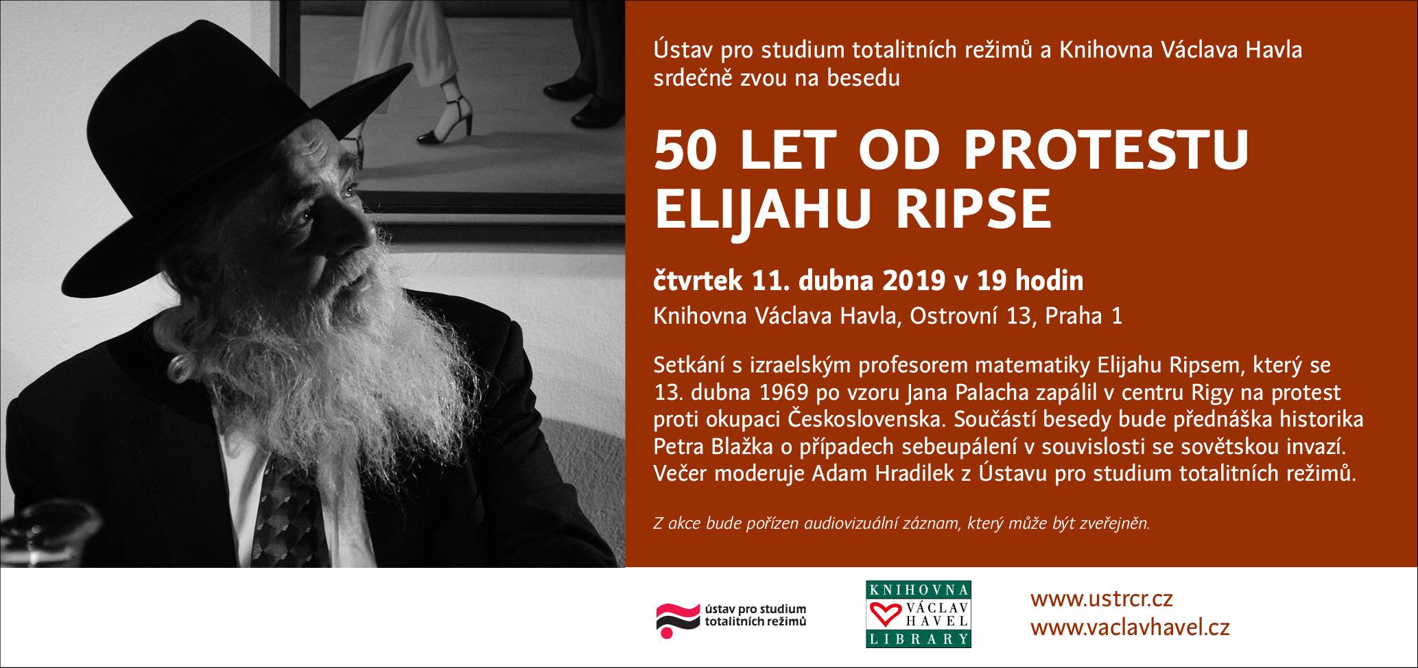 Pozvánka Eliahu Rips